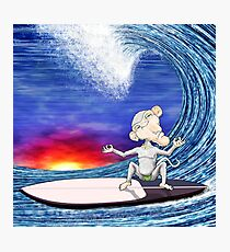 Surf Monkey Photographic Print