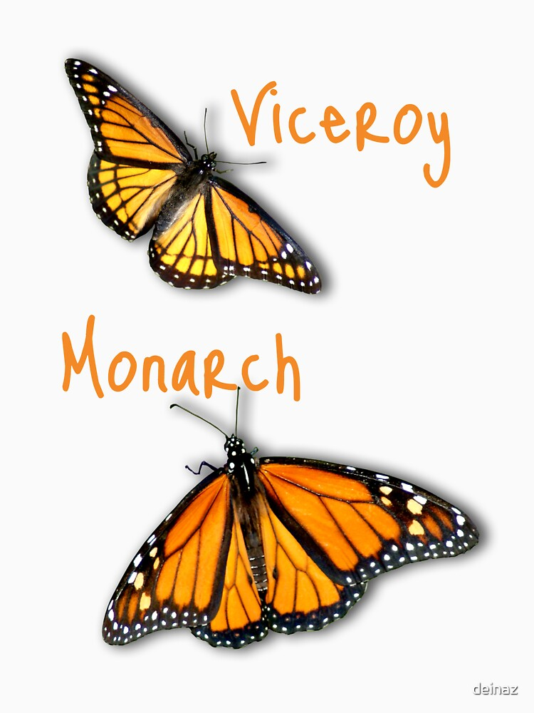 Viceroy/Monarch T-shirt by deinaz