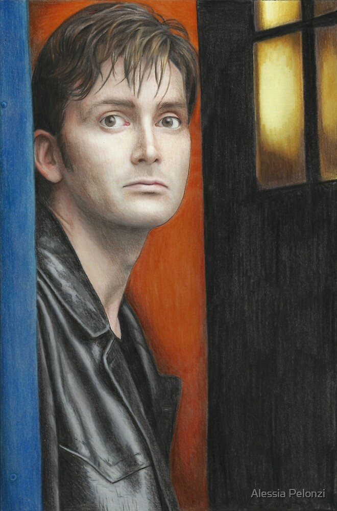 The Tenth Doctor by Alessia Pelonzi