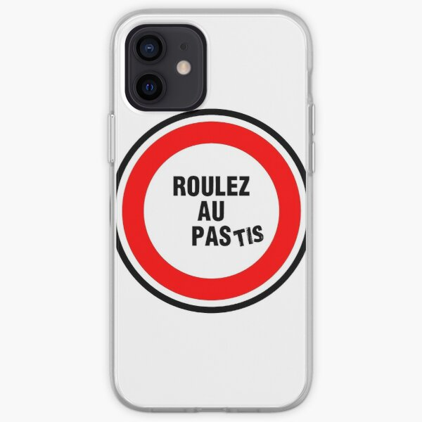 ROULEZ AU PAStis Coque souple iPhone