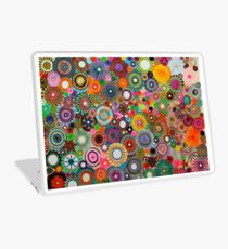 Childhood Dreams, a colourful spirograph drawing! Laptop Skin