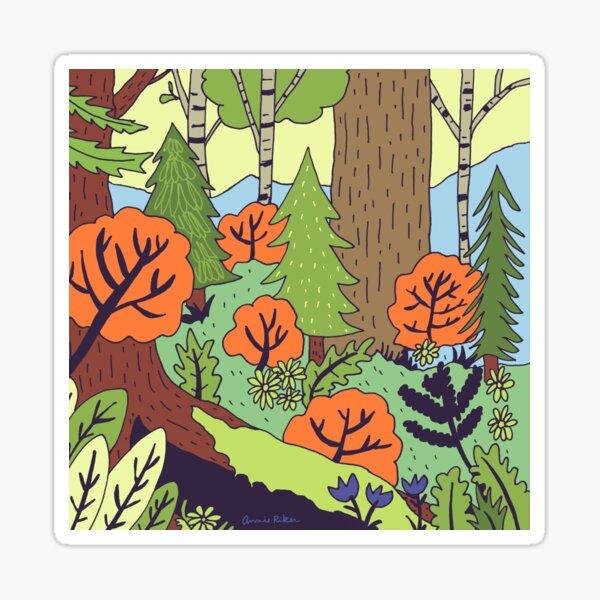 Pisgah Forest Sticker