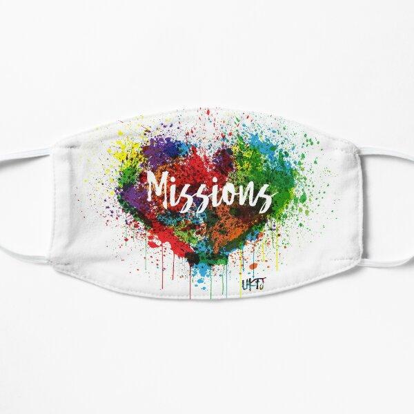 Love Missions Graffiti Flat Mask