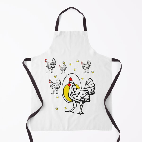 roseanne chicken Apron