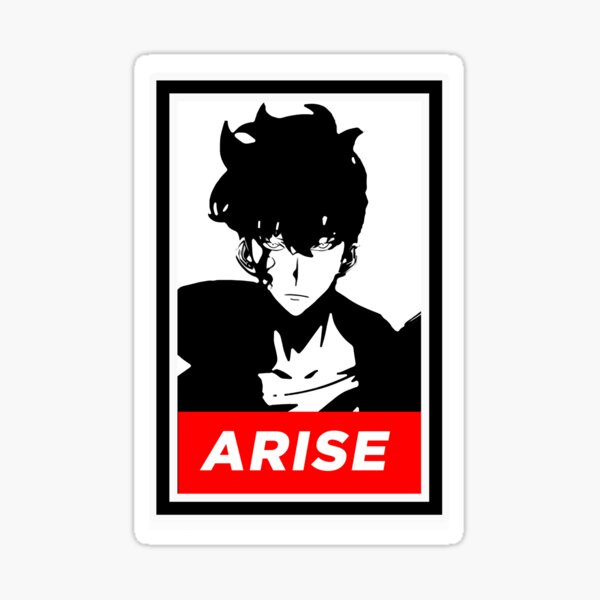Solo Leveling-Arise (OBEY Variant) Sticker