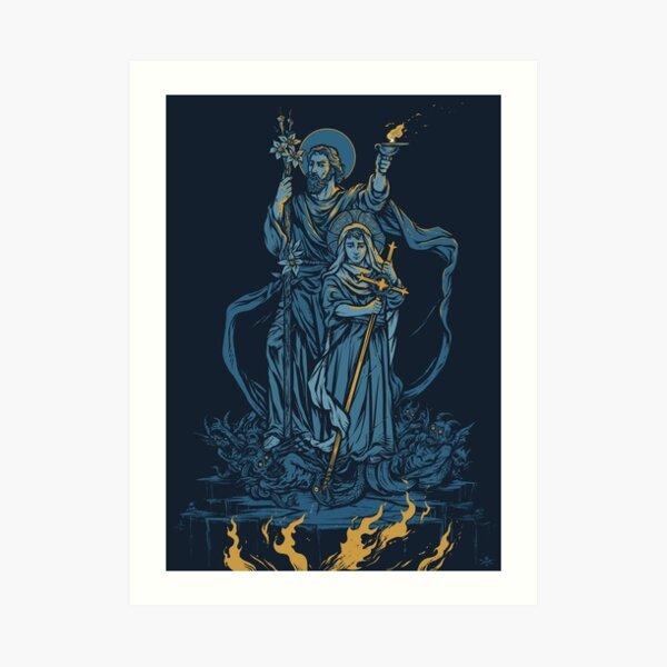 Terror of Demons - Dark Version Art Print