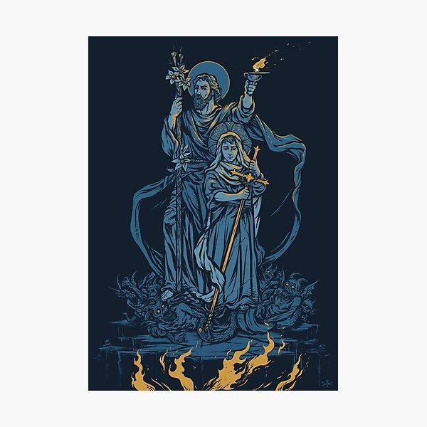 Terror of Demons - Dark Version Photographic Print