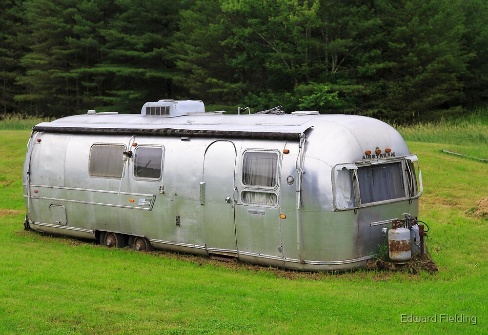 Vintage Airstream Travel Trailer Vermot by Edward Fielding