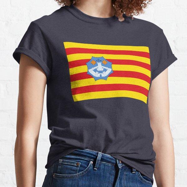 Flagge von Menorca, Spanien Classic T-Shirt
