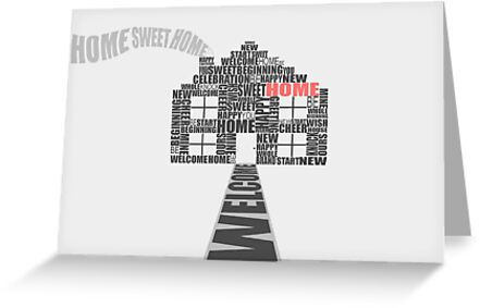 Welcome to your new home greeting card greeting cards by ryan welcome to your new home greeting card by ryan bailey m4hsunfo