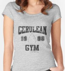 Cerulean Gym T-Shirt Women's Fitted Scoop T-Shirt