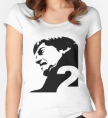 The Second Doctor – Patrick Troughton Women's Fitted Scoop T-Shirt
