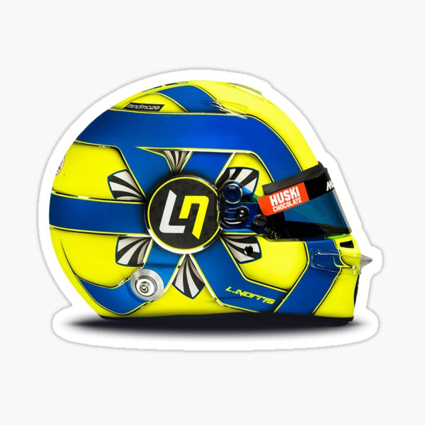 Autocollant de casque Lando Norris Sticker