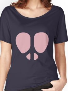 Peace Heart Women's Relaxed Fit T-Shirt