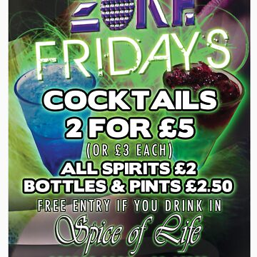 Zone Fridays by zonenightclub