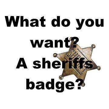 sheriffs badge by Wokswagen