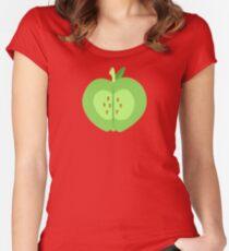 My little Pony - Big Mac Cutie Mark V3 Women's Fitted Scoop T-Shirt