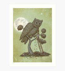 The Night Gardener Art Print