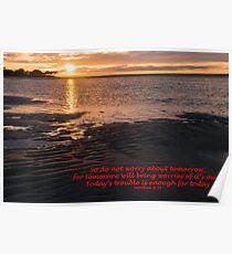 Matthew 6:34 (day 5) Poster