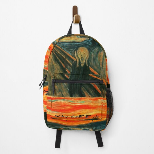 THE SCREAM   StAy CrEEpY HaLLoWeeN Related Items Backpack