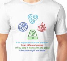 Draw Wisdom - Avatar The Last Airbender Unisex T-Shirt