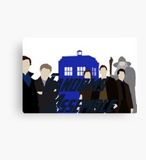 Fandoms Assemble Canvas Print