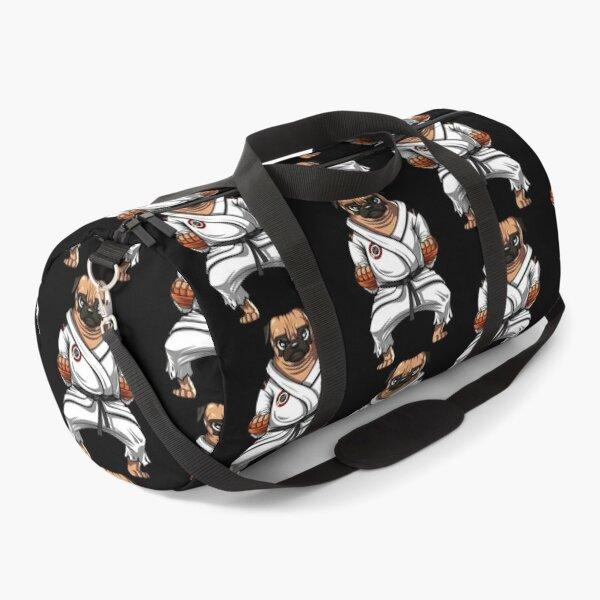 Pug Dog Karate Duffle Bag