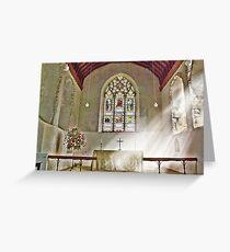 St Nicholas Offham Chancel Greeting Card