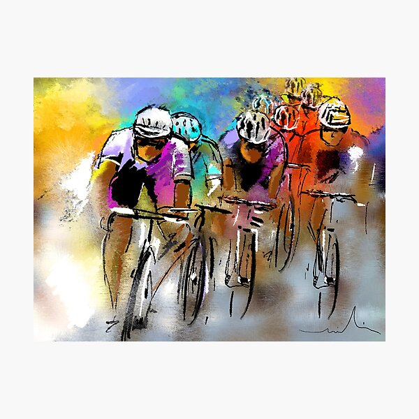Le Tour de France 03 Photographic Print