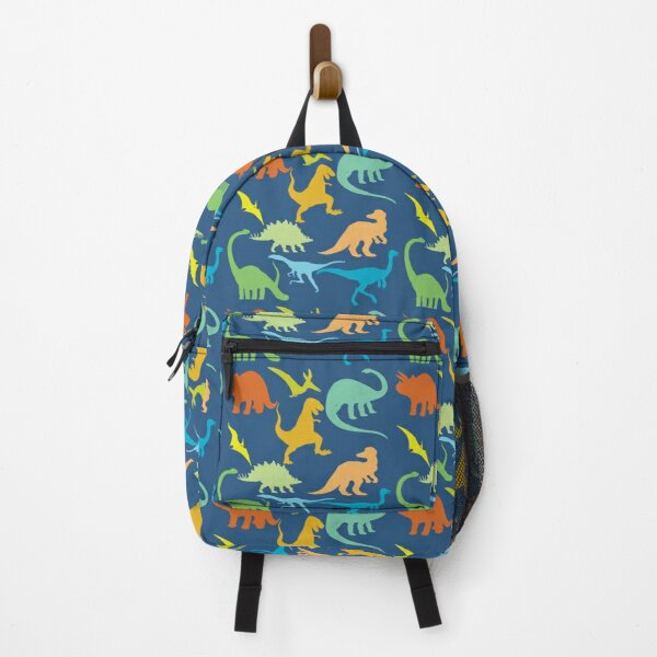 Colorful Dinosaur Pattern  Backpack