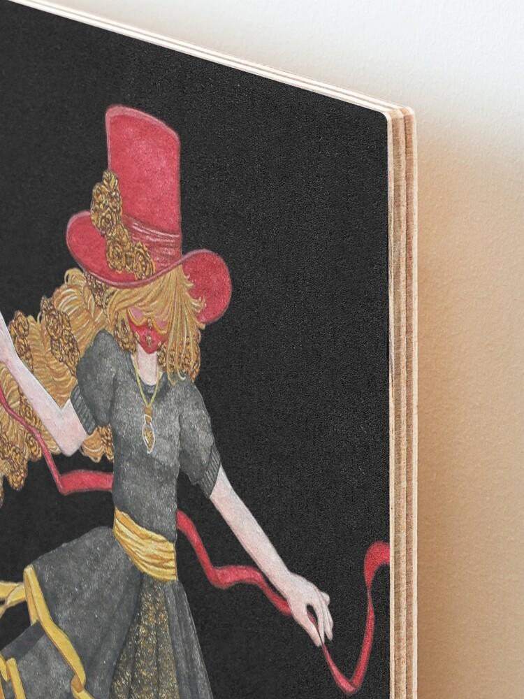 Alternate view of Ladybird - The famous uchronaut Mounted Print