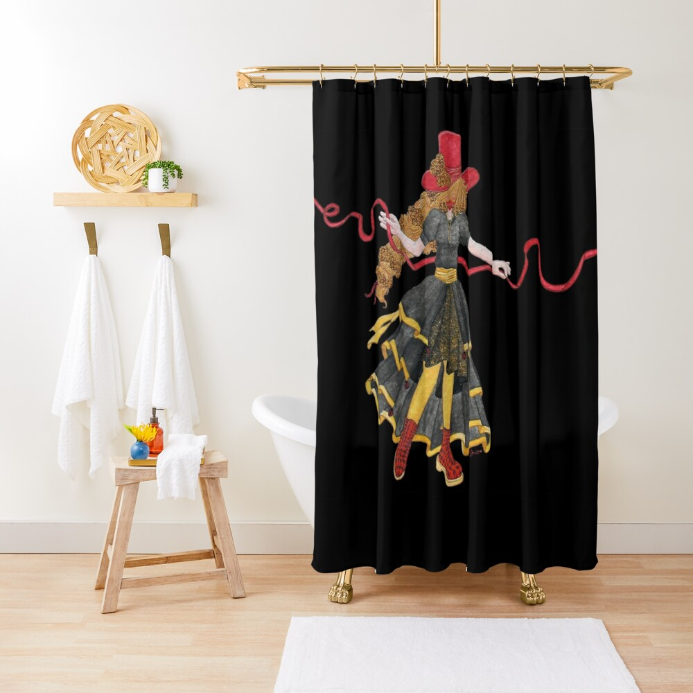 Ladybird - The famous uchronaut Shower Curtain