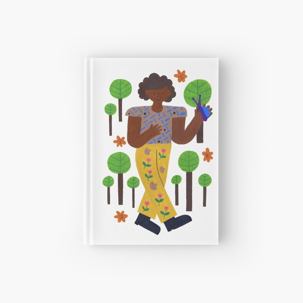 Strollin' Through The Trees Hardcover Journal