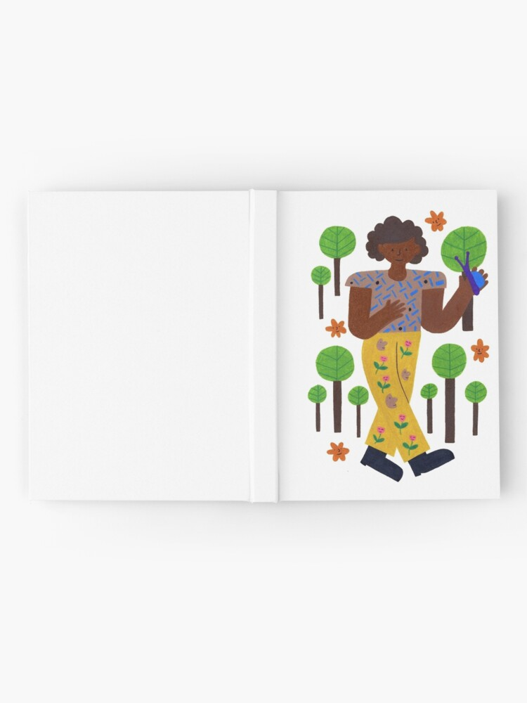 Alternate view of Strollin' Through The Trees Hardcover Journal