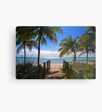 Smathers Beach, Key West Metal Print