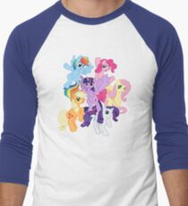 My Little Pony Group Men's Baseball ¾ T-Shirt