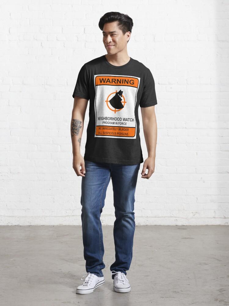 Alternate view of George Zimmerman Trayvon Martin Trial Shirt Essential T-Shirt