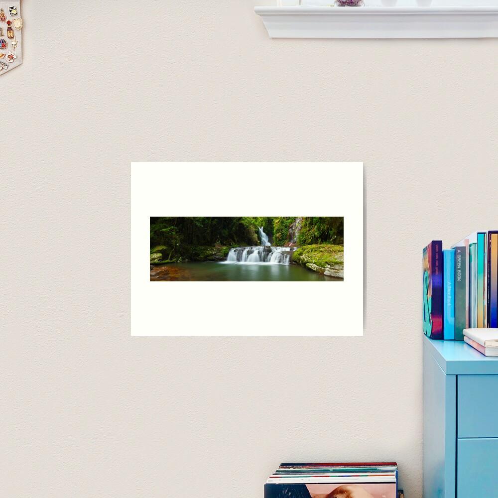 Elabana Falls, Lamington National Park, Queensland, Australia Art Print