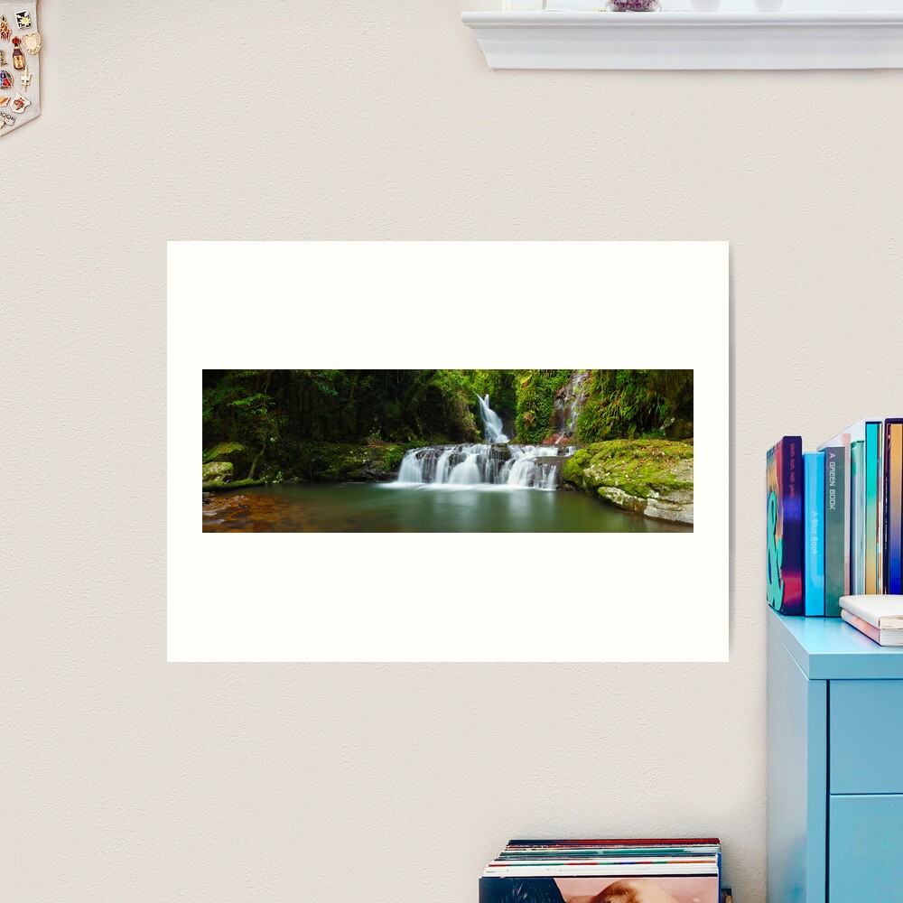 Elabana Falls, Lamington National Park, Queensland, Australia Art Print