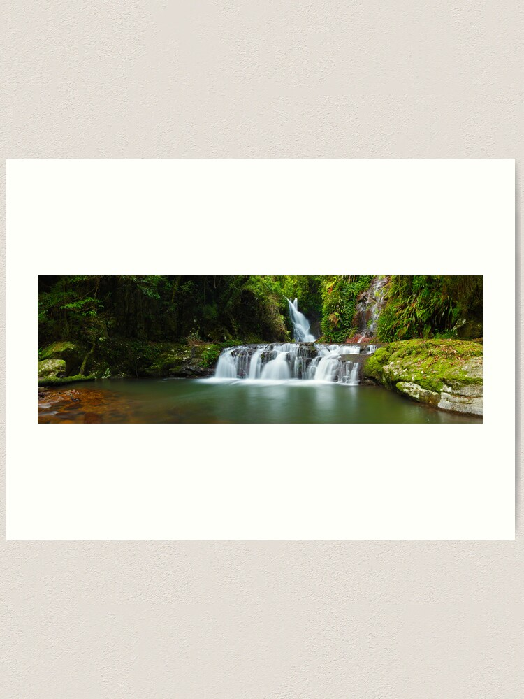 Alternate view of Elabana Falls, Lamington National Park, Queensland, Australia Art Print