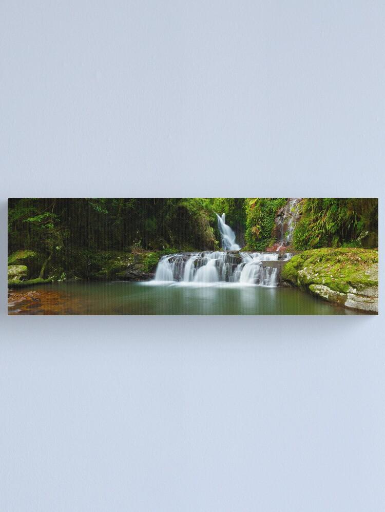 Alternate view of Elabana Falls, Lamington National Park, Queensland, Australia Canvas Print