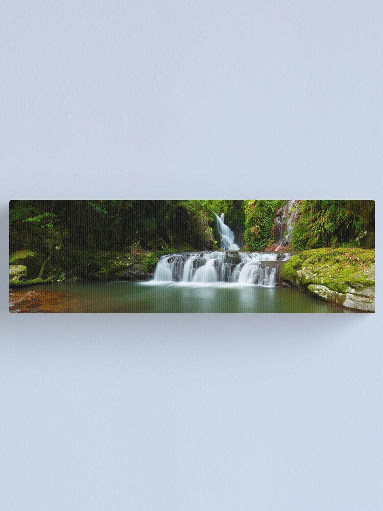 Alternate view of Elabana Falls, Lamington National Park, Queensland, Australia Canvas Print
