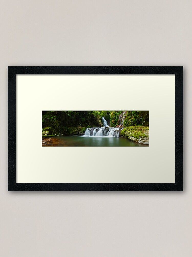 Alternate view of Elabana Falls, Lamington National Park, Queensland, Australia Framed Art Print