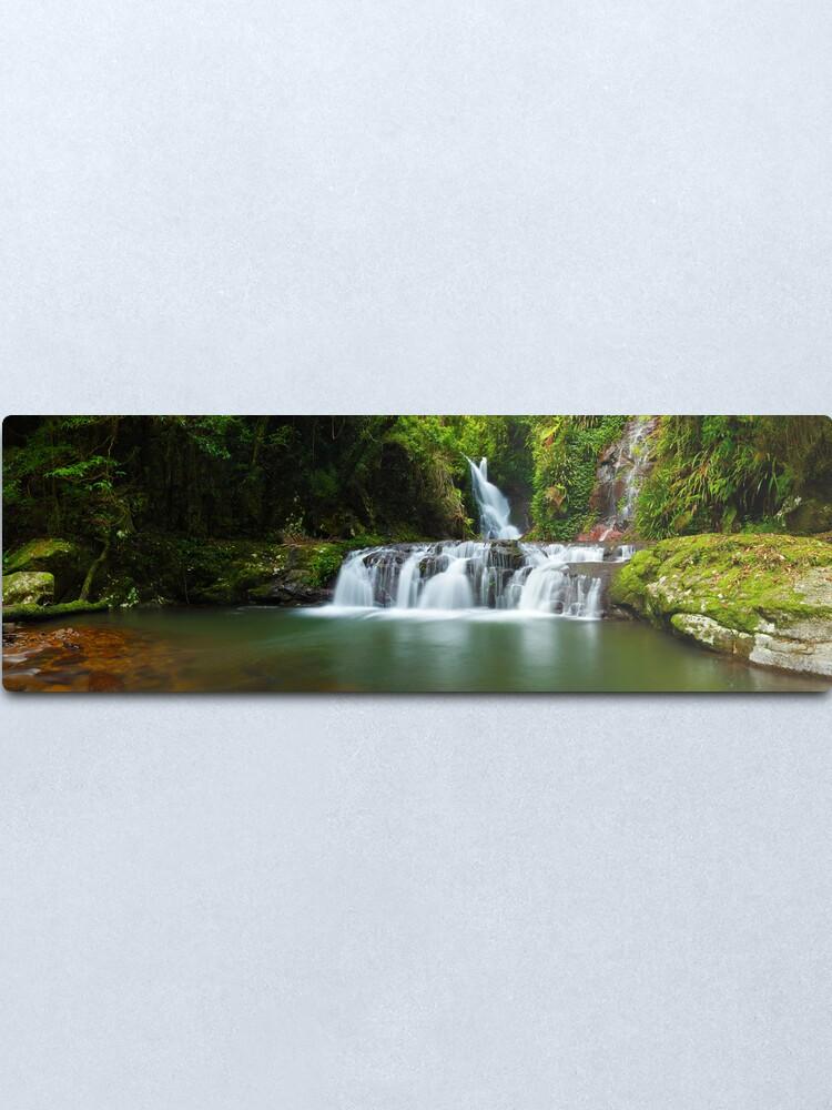 Alternate view of Elabana Falls, Lamington National Park, Queensland, Australia Metal Print