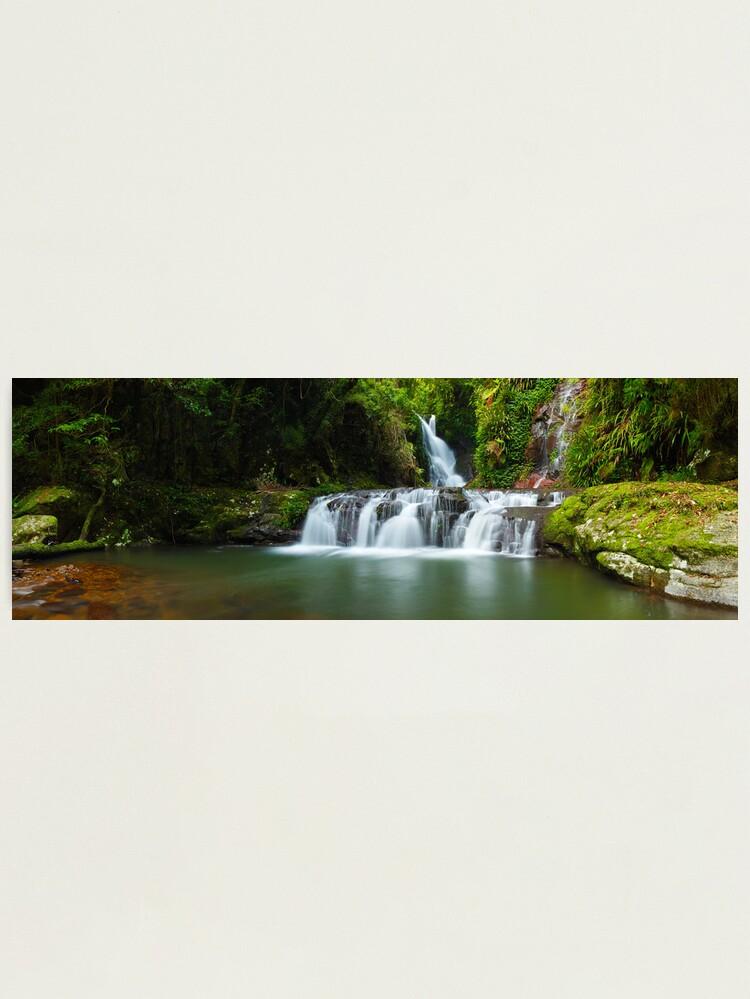 Alternate view of Elabana Falls, Lamington National Park, Queensland, Australia Photographic Print