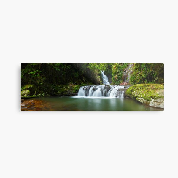 Elabana Falls, Lamington National Park, Queensland, Australia Metal Print