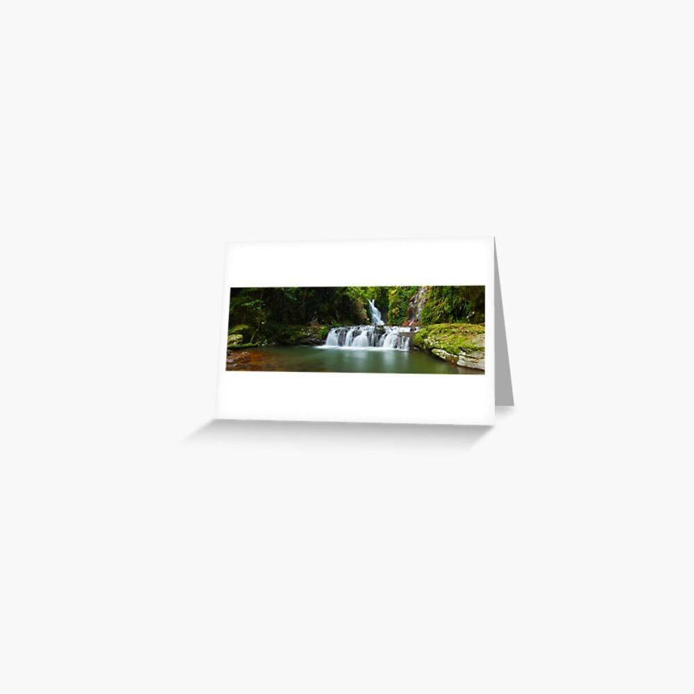Elabana Falls, Lamington National Park, Queensland, Australia Greeting Card