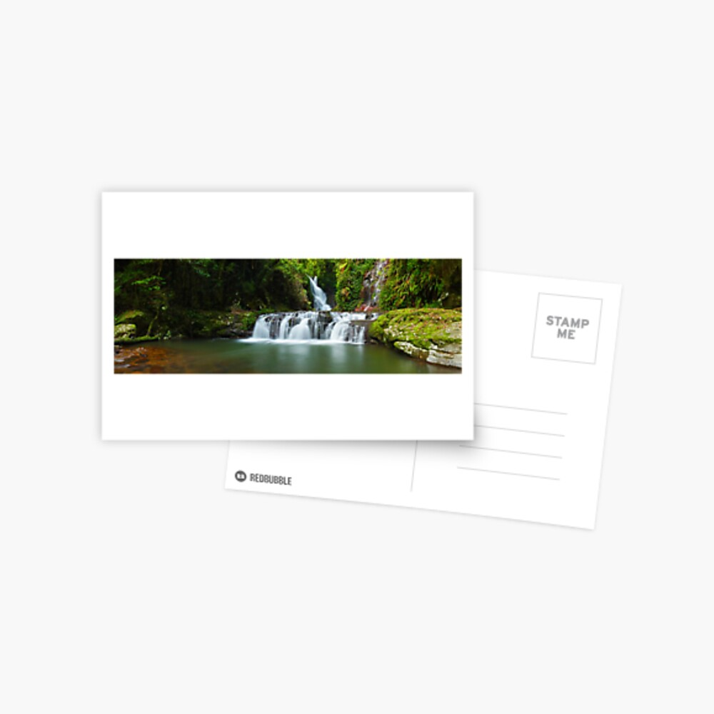 Elabana Falls, Lamington National Park, Queensland, Australia Postcard