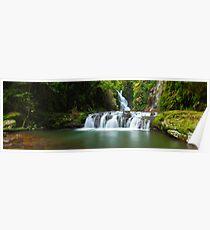 Elabana Falls, Lamington National Park, Queensland, Australia Poster