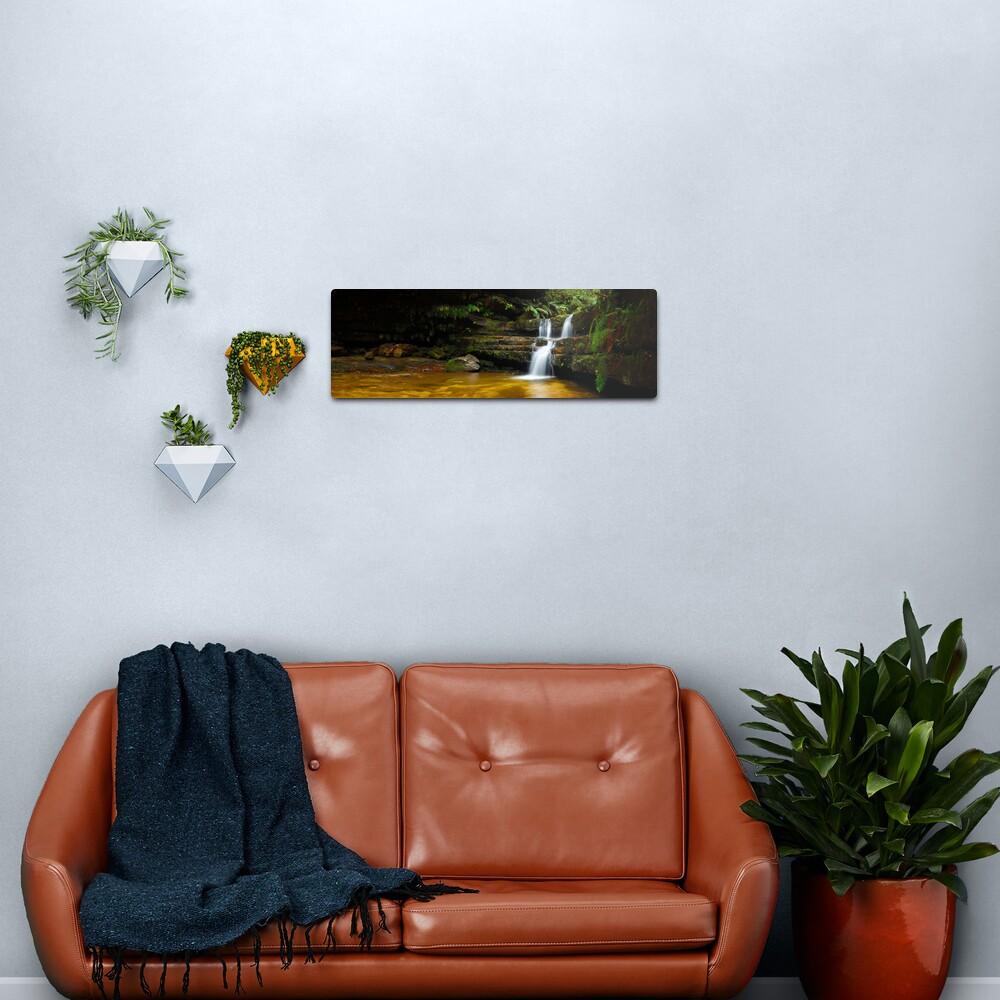 Terrance Falls, Hazelbrook, Blue Mountains, New South Wales, Australia Metal Print